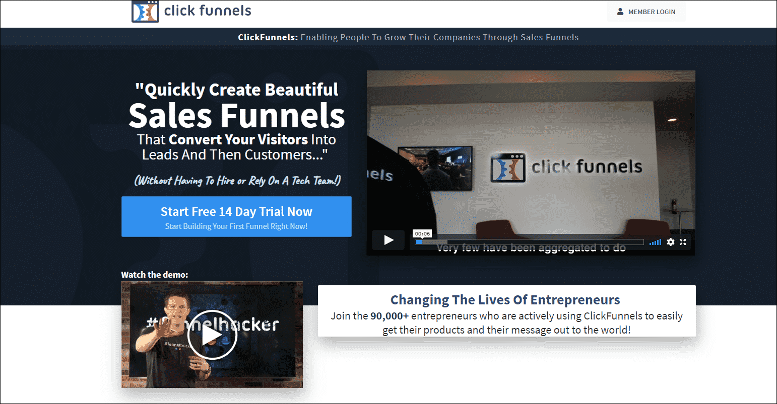 In Clickfunnels, How To Make A Hyperlink Blue