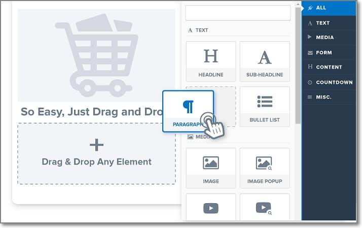 Drag and Drop Editor