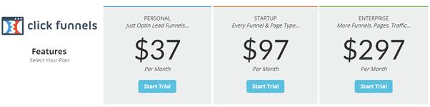 Clickfunnels $37 Plan