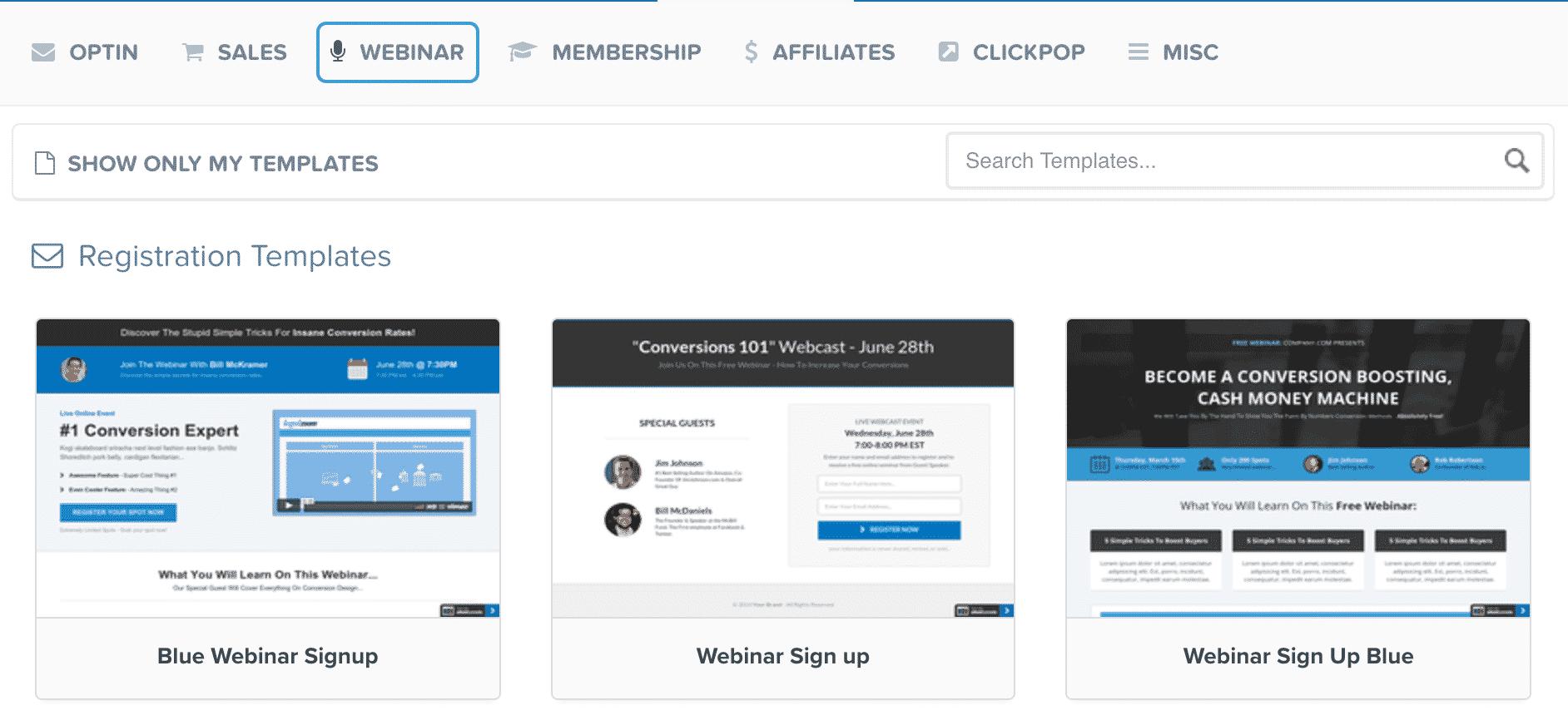 ClickFunnels webinar