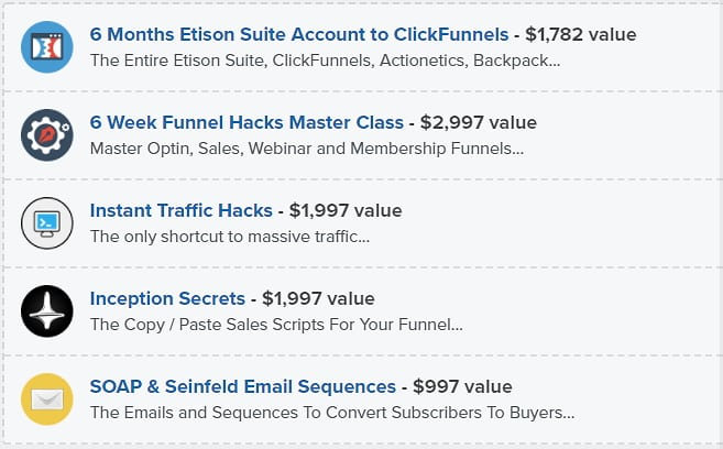 Clickfunnels Etison Suite Package