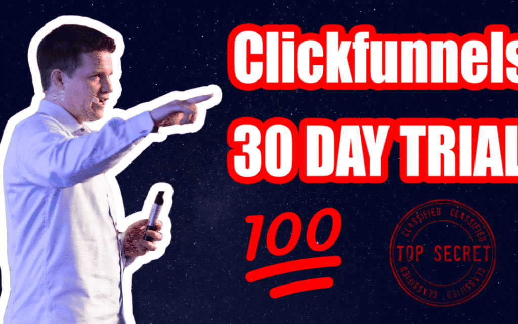 30-Days ClickFunnels Trial
