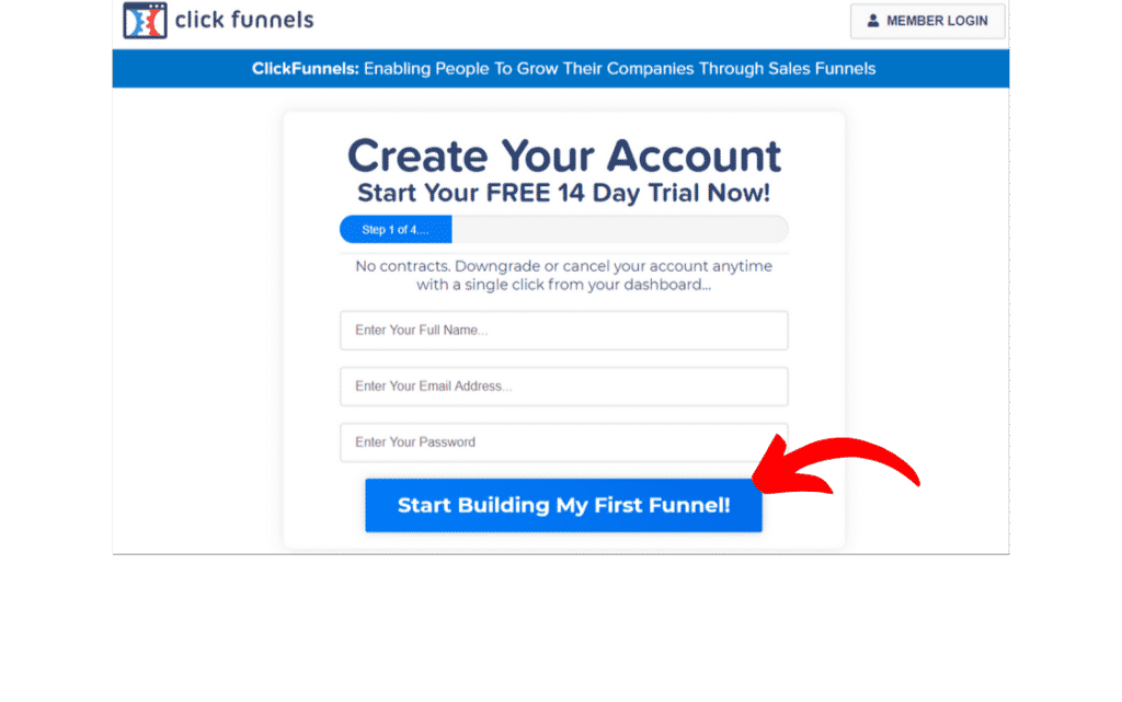 Creating Your ClickFunnels Account