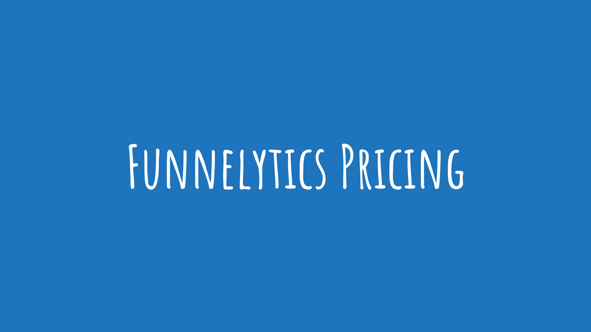 Funnelytics Pricing