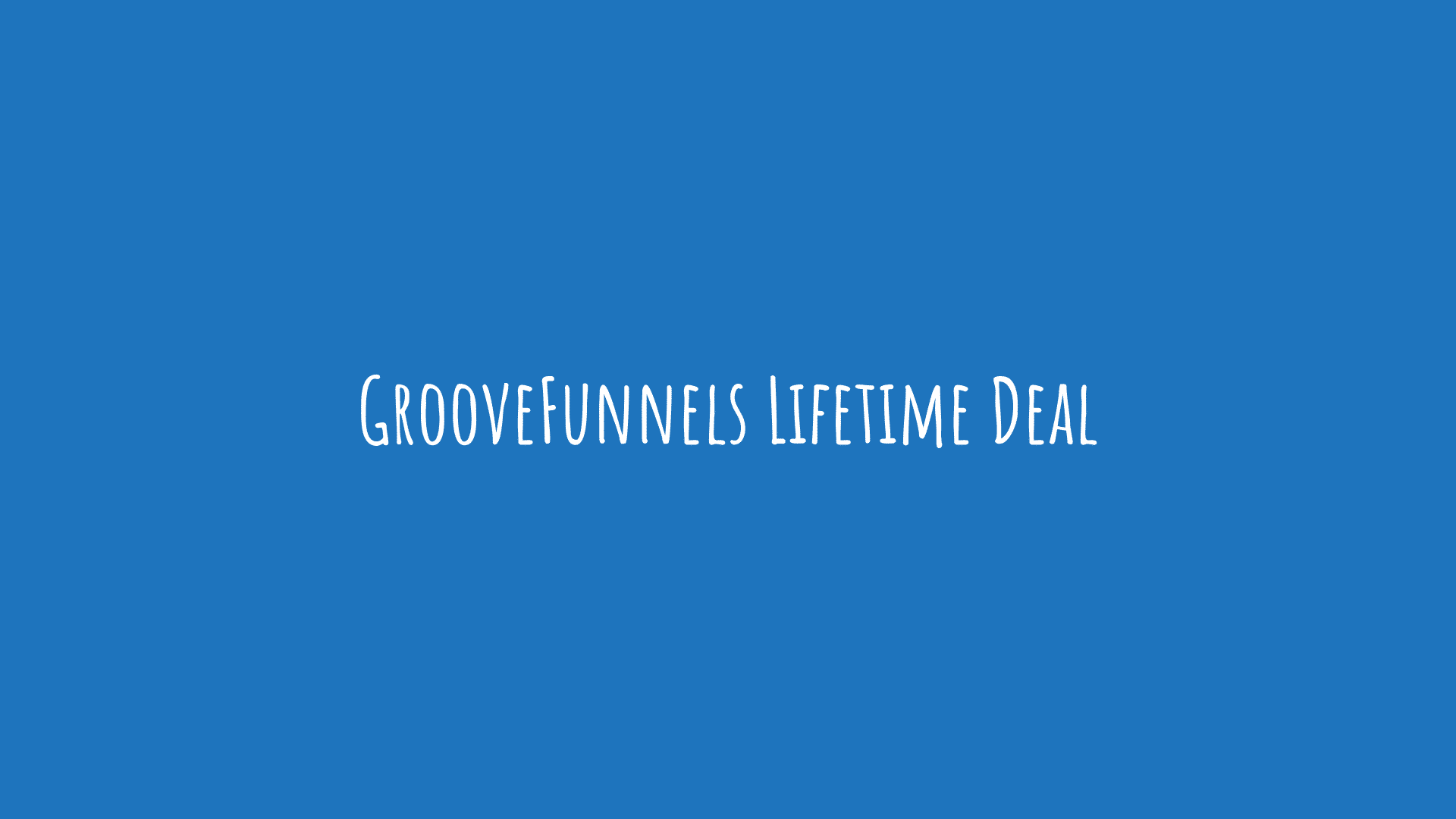 GrooveFunnels Lifetime Deal
