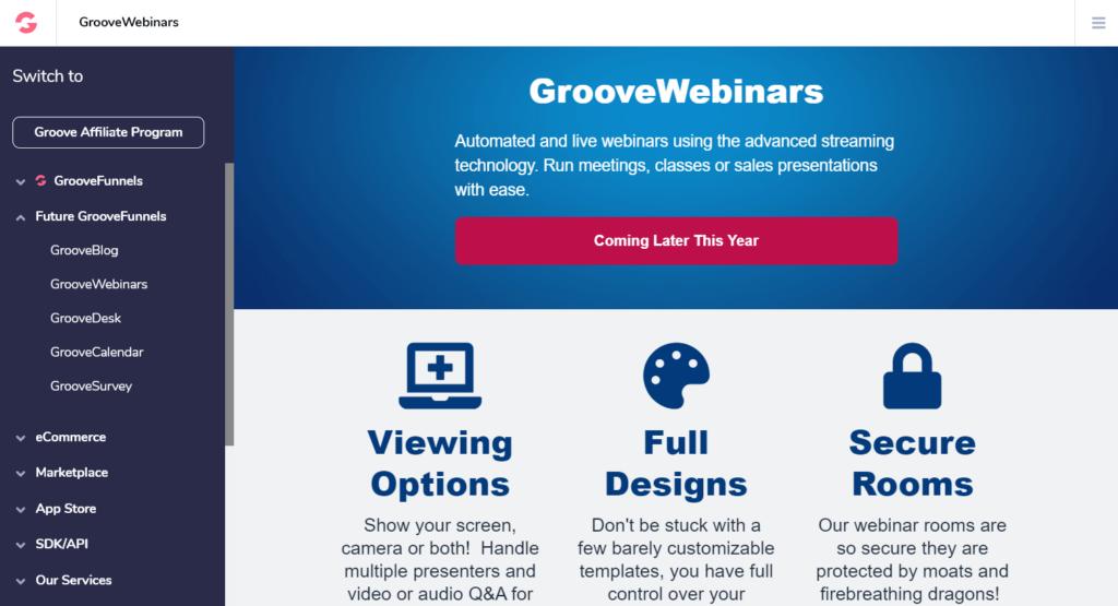 GrooveWebinars