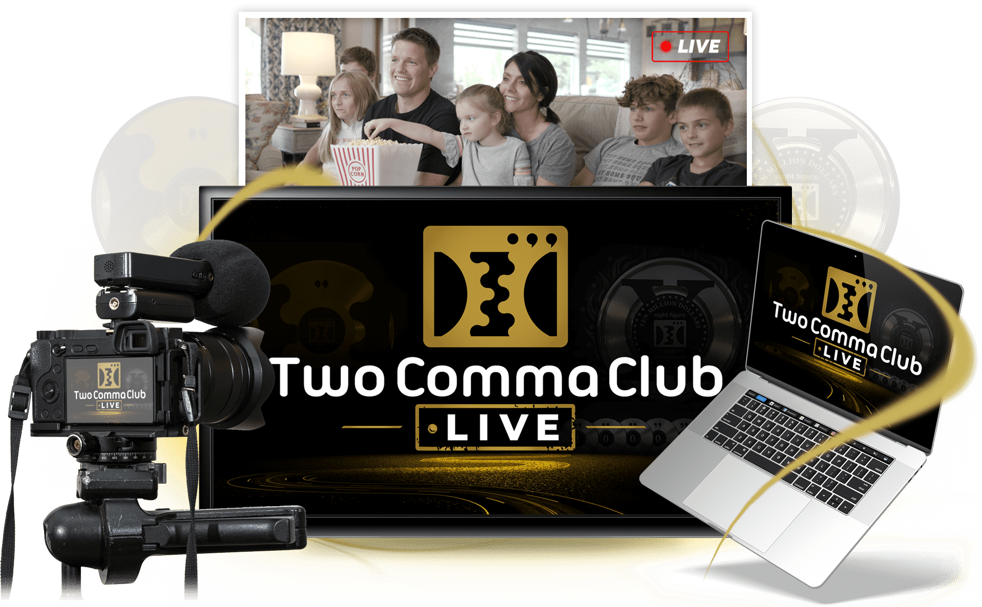 Two Comma Club LIVE Overview