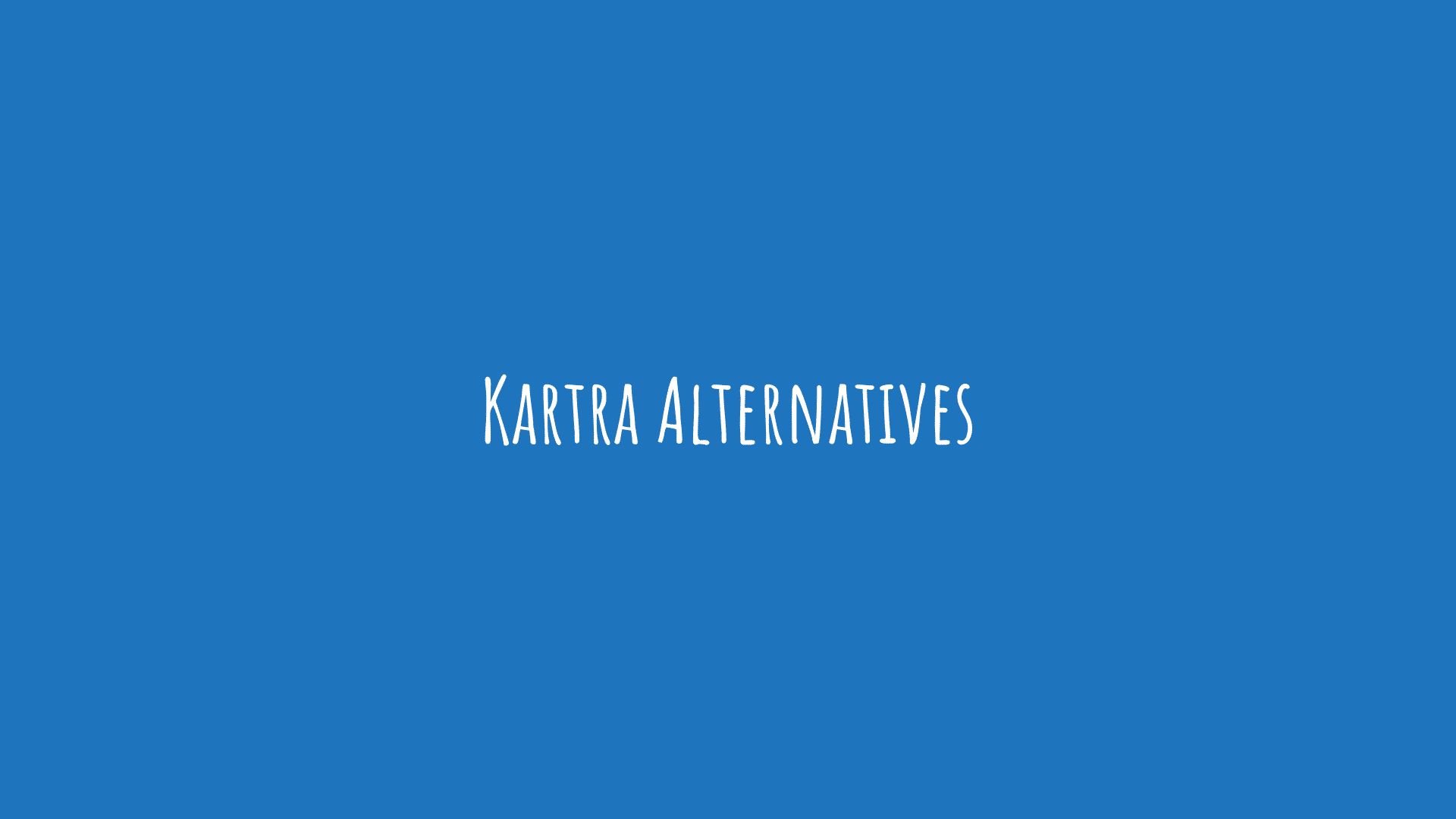 Kartra Alternatives