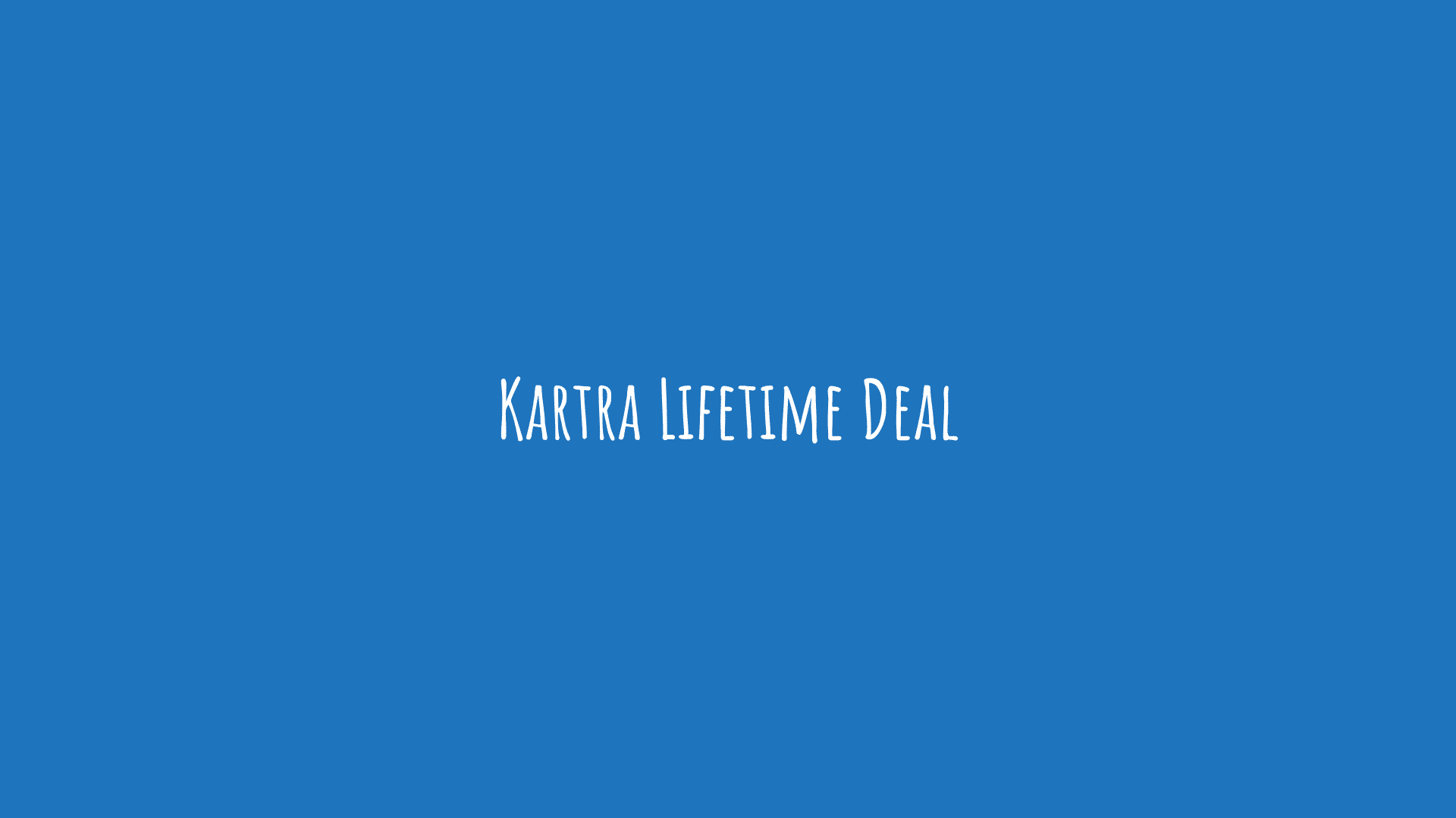 Kartra Lifetime Deal