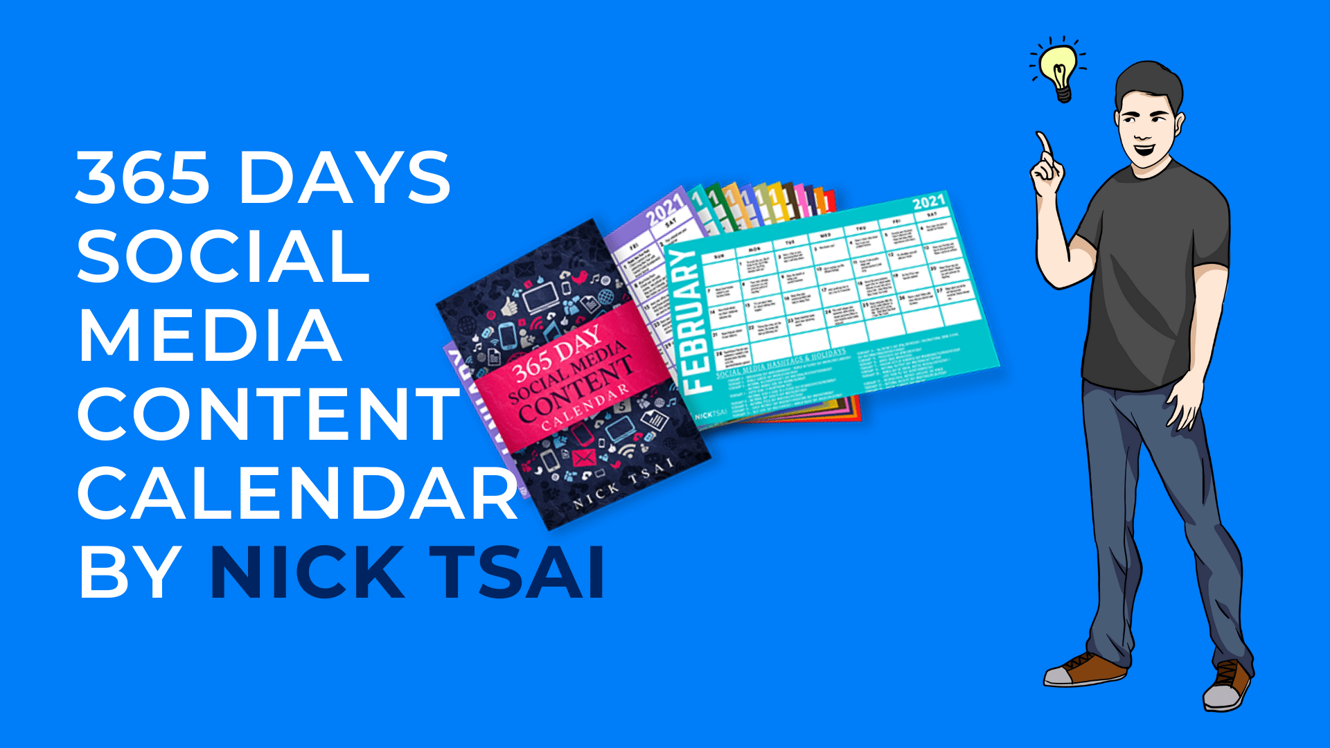 365 Days Social Media Content Calendar by NICK TSAI